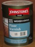 JOHNSTONE'S Floor Varnish Gloss 5л