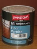 JOHNSTONE'S  Floor Varnish Satin 2,5л