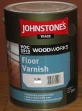 JOHNSTONE'S  Floor Varnish Satin 5л
