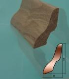 Плинтус Дуб Мрамор 554 Б